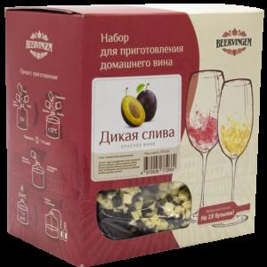 """Набор для приготовления домашнего вина """"Дикая слива"""" 13,5 л"""